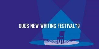 A poster for the OUDS New Writing Festival 2019