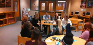 Red River High School discussing sexual assault