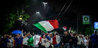 Italy fans during Euro 2020